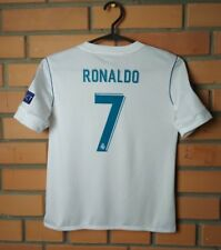 Real Madrid Home football shirt 2017-2018 #7 RONALDO kids 9-10 y.  jersey Adidas
