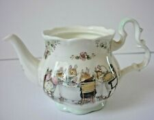 ROYAL DOULTON BRAMBLY  HEDGE MINI TEAPOT LID MISSING 7 CM IN HEIGHT