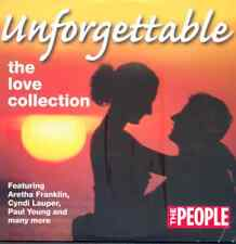 UNFORGETTABLE: THE LOVE COLLECTION - PROMO CD (2004) ARETHA FRANKLIN, PAUL YOUNG