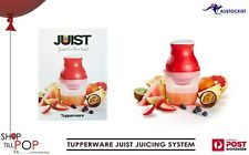 TUPPERWARE JUIST GO ANYWHERE JUICER 500/300ml Red Cllear BNIB AUTHENTIC