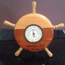 Thermometer Nautical Ship's Wheel