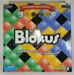 Blokus Board Game Award Winner Strategy Game For Whole Family  New & Sealed