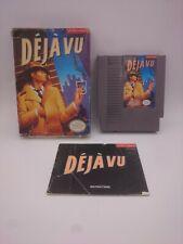Deja Vu NES (1990) CIB 3/10