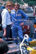 Ronnie Peterson March F1 Portrait Monaco Grand Prix 1976 Photograph 1