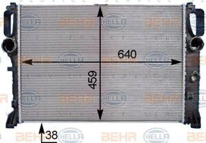 Radiator fits Mercedes W211 E-CLASS CLS 2002-2010 Mahle 8MK376769791