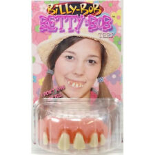 Genuine licenced  Billy Bob - Betty Bob teeth with fixing putty adult use only