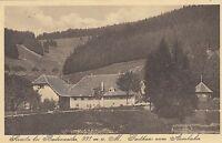 """Sirnitz bei Badenweiler, Gasthaus """"Zum Auerhahn"""", ca. 30er Jahre"""