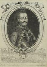 Eau-forte, Comte Michel Teckell II, Larmessin XVIIIe, Russia