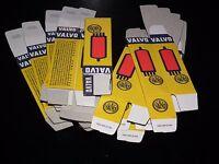 100 pcs Valvo Tube Boxes for Audio tubes ECC81 ECC83 E88CC EL84 ECC803S 6922