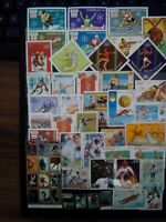 Sport Mix Briefmarken Sellos Timbres Stamps