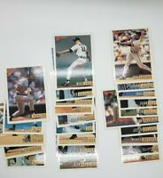 1993 Topps Bowman Detroit Tigers Team Baseball Cards (Ungraded)