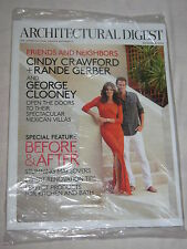 CINDY CRAWFORD Architectural Digest Nov 2013 George Clooney Rande Gerber NEW