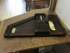 Antique T. Meinhold's Autoharp Harp Made in Saxony Germany musical instrument