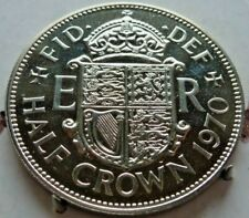 NEVER ISSUED FOR CIRCULATION BRITISH PROOF 1970 HALF CROWN STUNNING