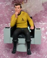 Captain James T. Kirk, STAR TREK, Hallmark Ornament 1995 MIB opened for photos