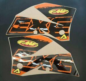 2005-2007 KTM EXC RAD SCOOP GRAPHICS DECALS STICKERS