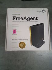 Seagate FreeAgent Go 250GB USB Expansion Portable External Hard Drive.
