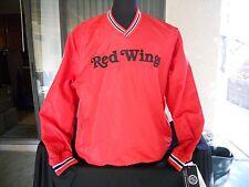 NWT MENS / WOMENS DETROIT RED WINGS NHL HOCKEY V-NECK LONG SLEEVE JACKET LG