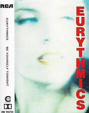 EURYTHMICS BE YOURSELF TONIGHT CASSETTE PK70711 ANNIE LENNOX Electronic Synthpop