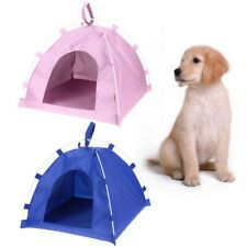 Pet Dog Calming Bed Nest Puppy House Cat Kitty Shelter Waterproof Tent Backyards