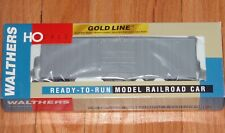 WALTHERS 932-7100 GOLD LINE GUNDERSON 50' HI-CUBE PAPER BOXCAR UNDECORATED