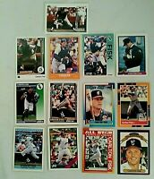 Carlton Fisk - Lot of 13 -  Chicago White Sox - Excellent/Mint Condition - AS IS