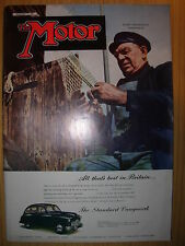 VINTAGE MOTOR MAGAZINE JANUARY 31 1951 THE STANDARD VANGUARD