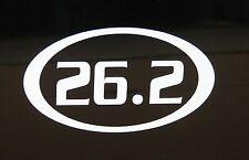 """26.2 Marathon Race Decal Sticker Runner Run *New Design 3.5"""""""