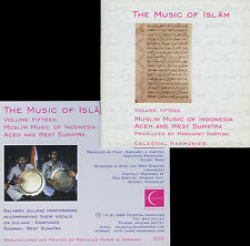 THE MUSIC OF ISLAM : MUSLIM MUSIC OF INDONESIA ACEH & WEST SUMATRA / 2 CDS