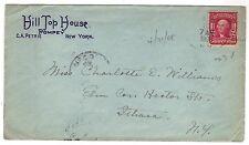 1908 Pompey NY Hotel Advertising cc cover Hill Top House Onondaga County Doane