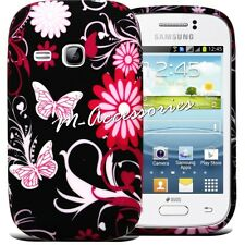 Custodia Cover Floreale Gel / Silicone x SAMSUNG GT-S6310 S6310L Galaxy Young