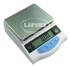 600g x 0.01g High Precision Digital Electronic Jewelry Balance Scale Amput 452