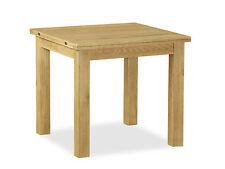 Lanner Oak Square Extending Table / Waxed Oak Square Flip Top Table