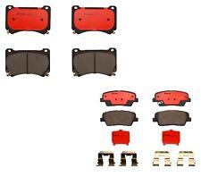 Front & Rear Brembo Ceramic Brake Pads Kit for Hyundai Genesis to 16th Feb 2009