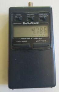 VINTAGE RADIO SHACK TANDY DIGITAL FREQUENCY COUNTER FOR CB HAM RADIO 22-306