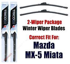 WINTER Wiper Blades 2-Pack Premium - fit 1990-2015 Mazda MX-5 Miata - 35180x2