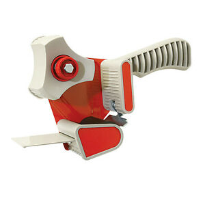 50mm Heavy Duty Metal Packing Tape Parcel Sellotape Hand Dispenser Gun F022