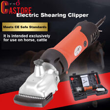 350W Electric Horse Clippers Cattle Trimmer Shearing Hair Grooming