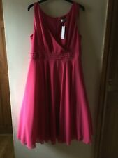'ANNE LOUISE ROSWALD' ENCHANTED TIERED RUFFLE DRESS IN PINK (14)