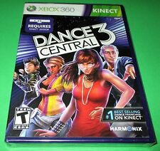 Dance Central 3 Xbox 360 *Factory Sealed! *Free Shipping!