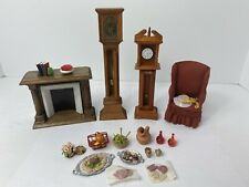 **AUTHENTIC** 70's Lundby Vintage Dollhouse Furniture Accessories Clock Food Lot