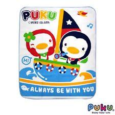 PUKU Waterproof Sheet (Super Soft) Blue 80 x 100 cm