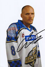 Blaz Emersic (ex-Milton Keynes Lightning & Slovenia) signed colour photograph