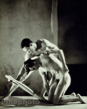 1948 Ballet MALE NUDE Moncion & Magallanes Large Photo Art By GEORGE PLATT LYNES