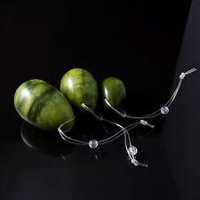 Green Jade Stone Vaginal balls Yoni eggs for kegel exercises pelvic muscles
