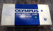 Olympus Car Battery Cord VF-BC81Portable VCR 12-VDC Movie 8 Connector charger