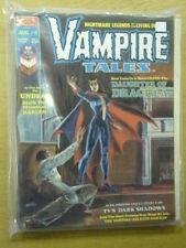 VAMPIRE TALES #6 VF MARVEL HORROR MAGAZINE