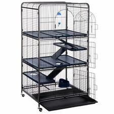 Spacious Cage Ferrets Chinchillas Elegant Design 3 Levels Accessories Quality
