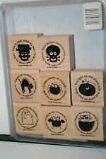 e RETIRED STAMPIN UP BATTY FOR YOU 8 PC LITTLE STAINING