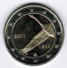manueduc  2 EUROS FINLANDIA 2011  COMMEMORATIVOS Bicentenario del Banco Filandes